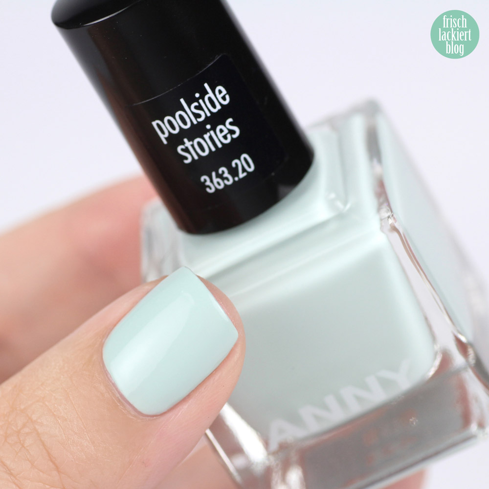 ANNY beverly hills hideaway Kollektion – Nagellack Sommer 2018 – poolside stories – swatch by frischlackiert