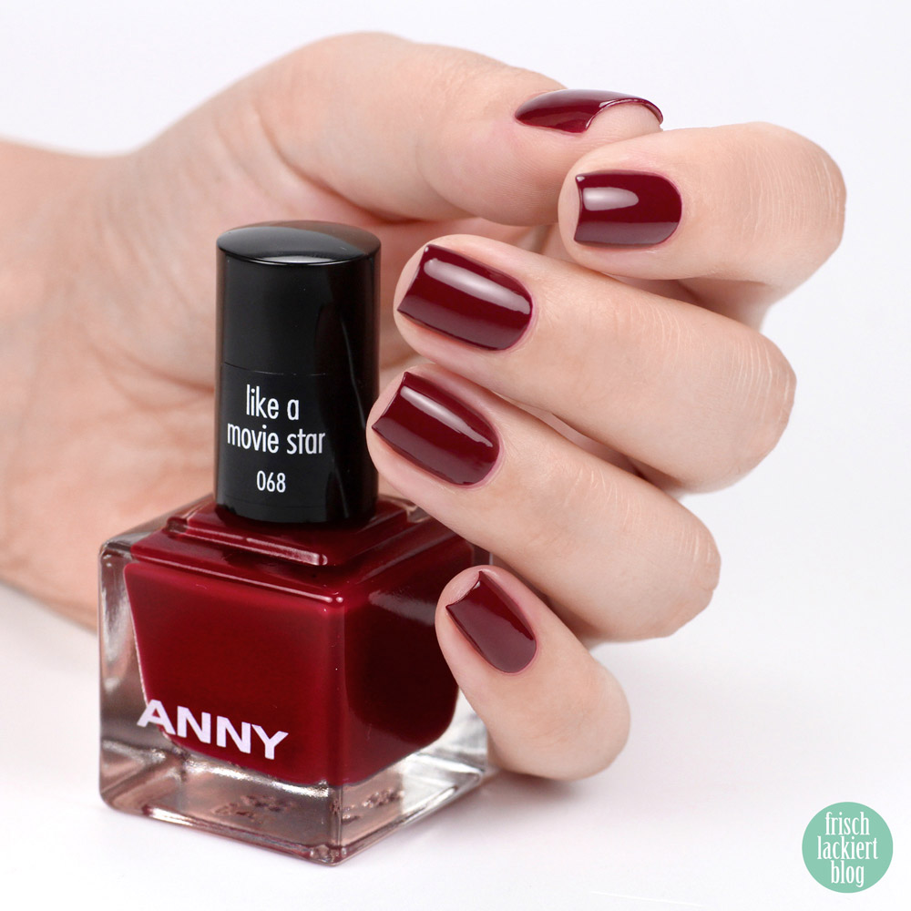 ANNY beverly hills hideaway Kollektion – Nagellack Sommer 2018 – like a movie star – swatch by frischlackiert