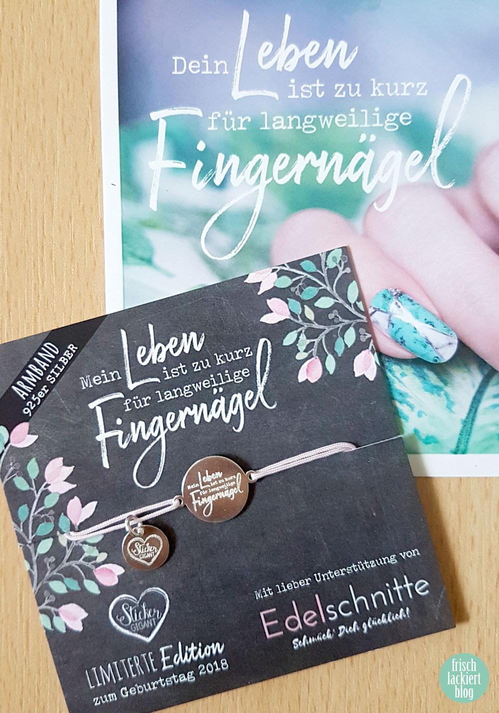 Armband von edelschnitte zum Geburtstag von Sticker Gigant - limited edition – by frischlackiert