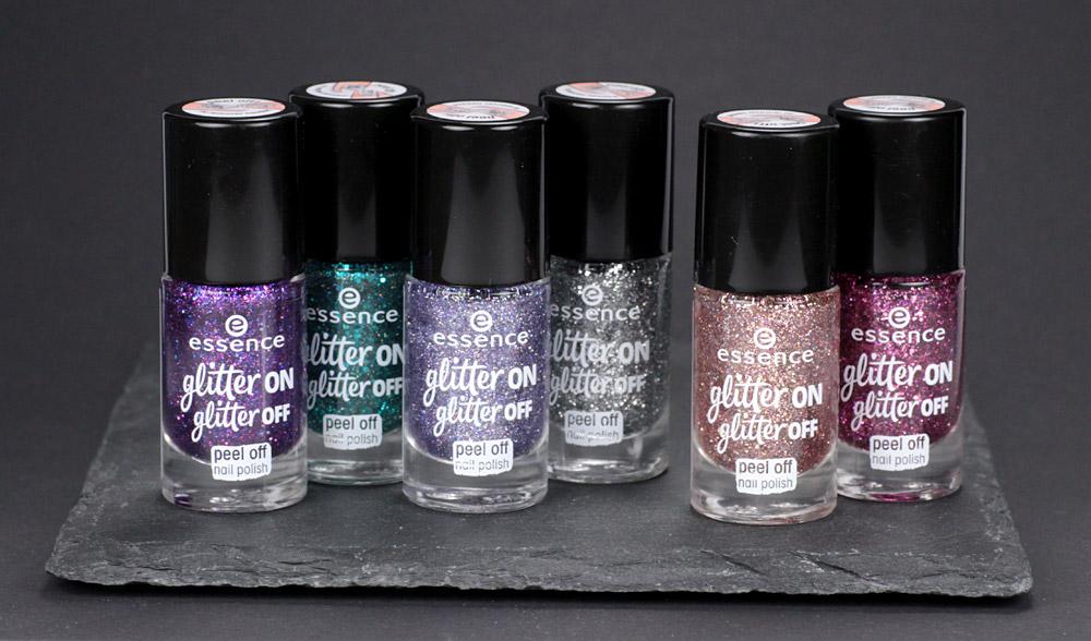 essence glitter on glitter off Peel-Off Glitzer Lacke im Test – Review von frischlackiert
