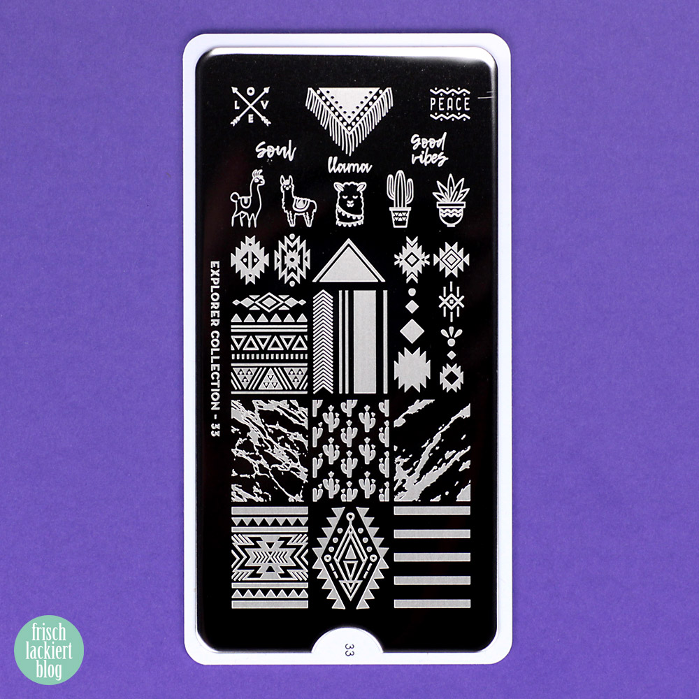 MoYou Explorer Collection 33 Stamping Plate – by frischlackiert