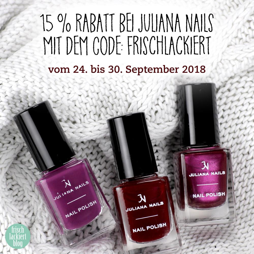 Juliana Nails – Nagellack für den Herbst – swatch by frischlackiert