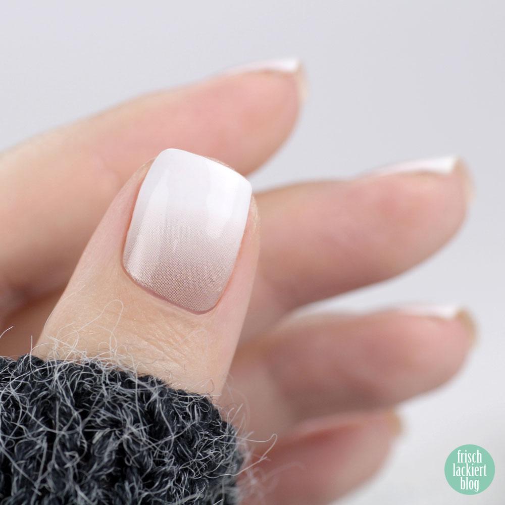 Babyboomer Nägel zum Aufkleben – mit Sticker Gigant Ombre Nudista – by frischlackiert