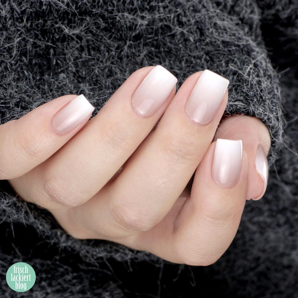 Babyboomer Nails zum Aufkleben mit Sticker Gigant Ombre Nudsita Nagelstickern für Naturnägel und Gelnägel