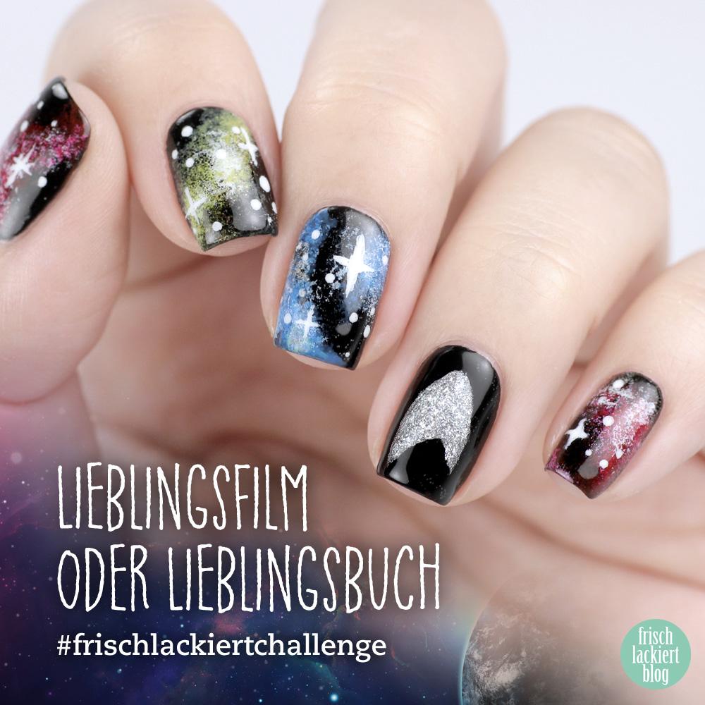 Frischlackiert-Challenge Lieblingsfilm – Star Trek Nailart – by frischlackiert