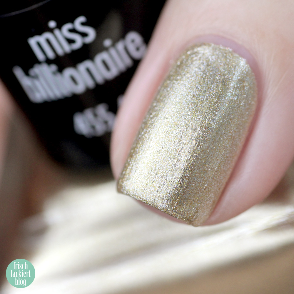 ANNY GLAM-À-PORTER Kollektion – miss billionaire – swatch by frischlackiert