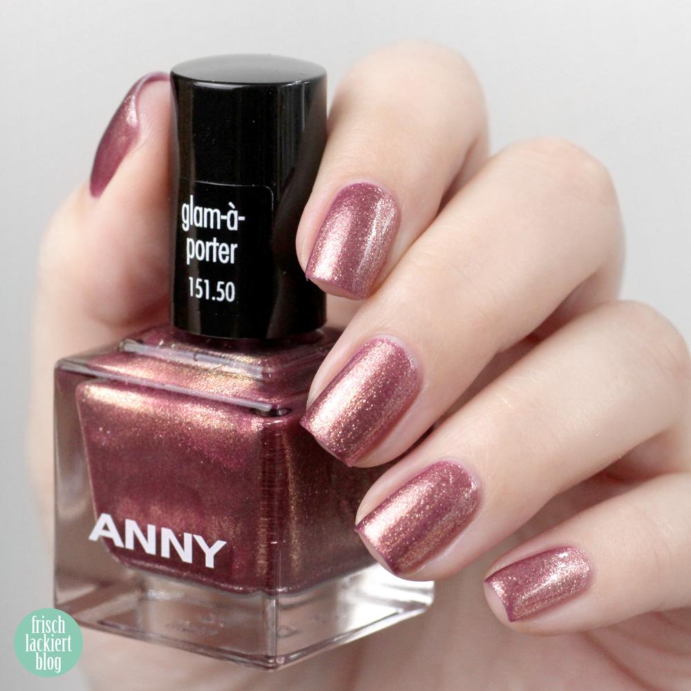 ANNY GLAM-À-PORTER Kollektion – swatch by frischlackiert