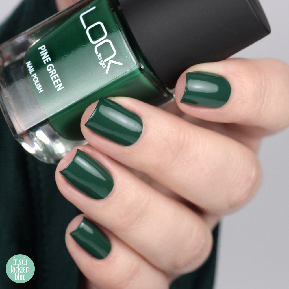 Look to Go – Pine Green – Nagellack made in Germany – swatch by frischlackiert