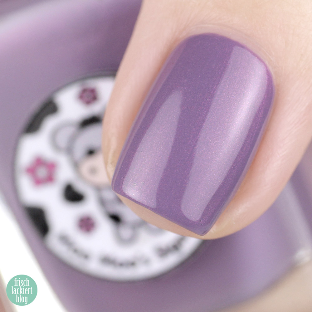 Moo Moo's Signatures – Magical Forest Trio – Limited Edition – Smoky Lavender – swatch by frischlackiert