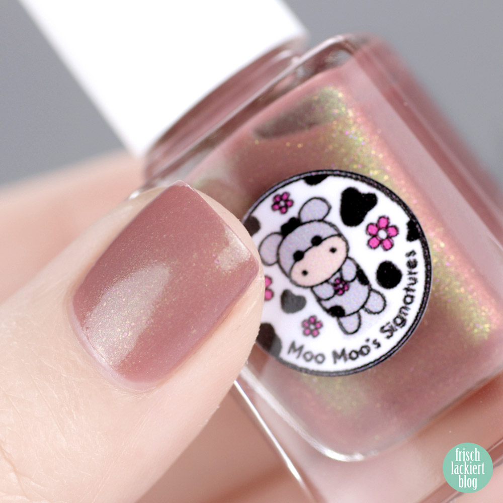 Moo Moo's Signatures – Magical Forest Trio – Limited Edition – The Bear Wizard – swatch by frischlackiert