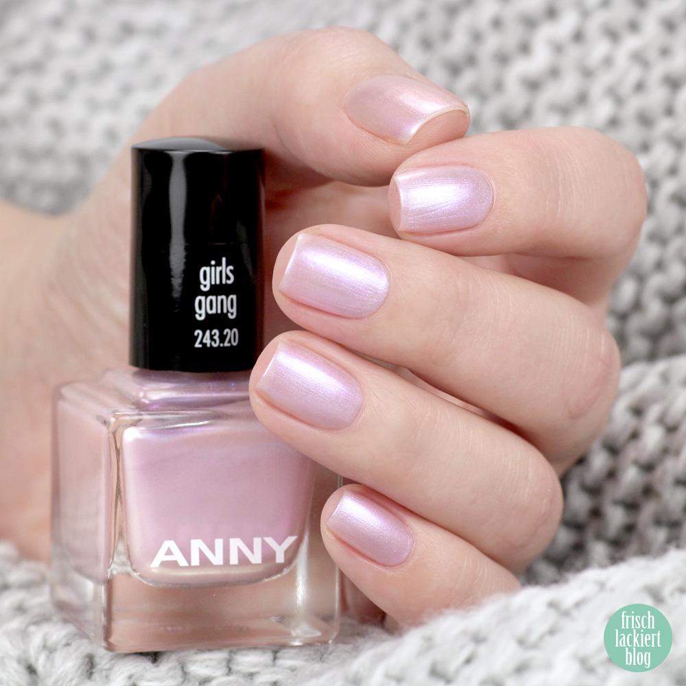 ANNY La La Life Kollektion – Girls Gang – Frühling 2019 – Nagellack – swatch by frischlackiert
