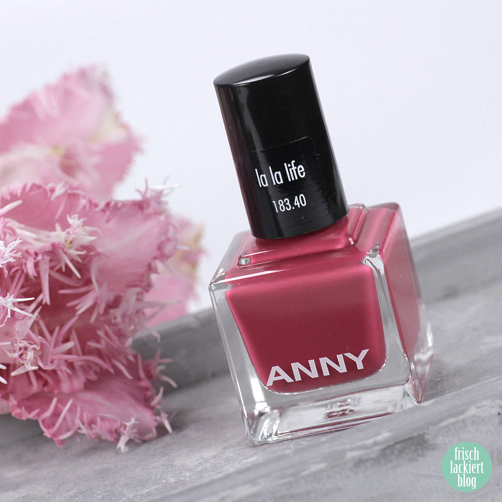 ANNY La La Life Kollektion – La La Life – Frühling 2019 – Nagellack – swatch by frischlackiert