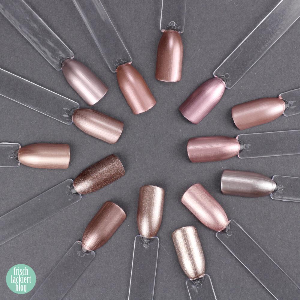 Alternative zu essie Penny Talk – Vergleich Rosegold Nagellack – Dupe Suche – by frischlackiert