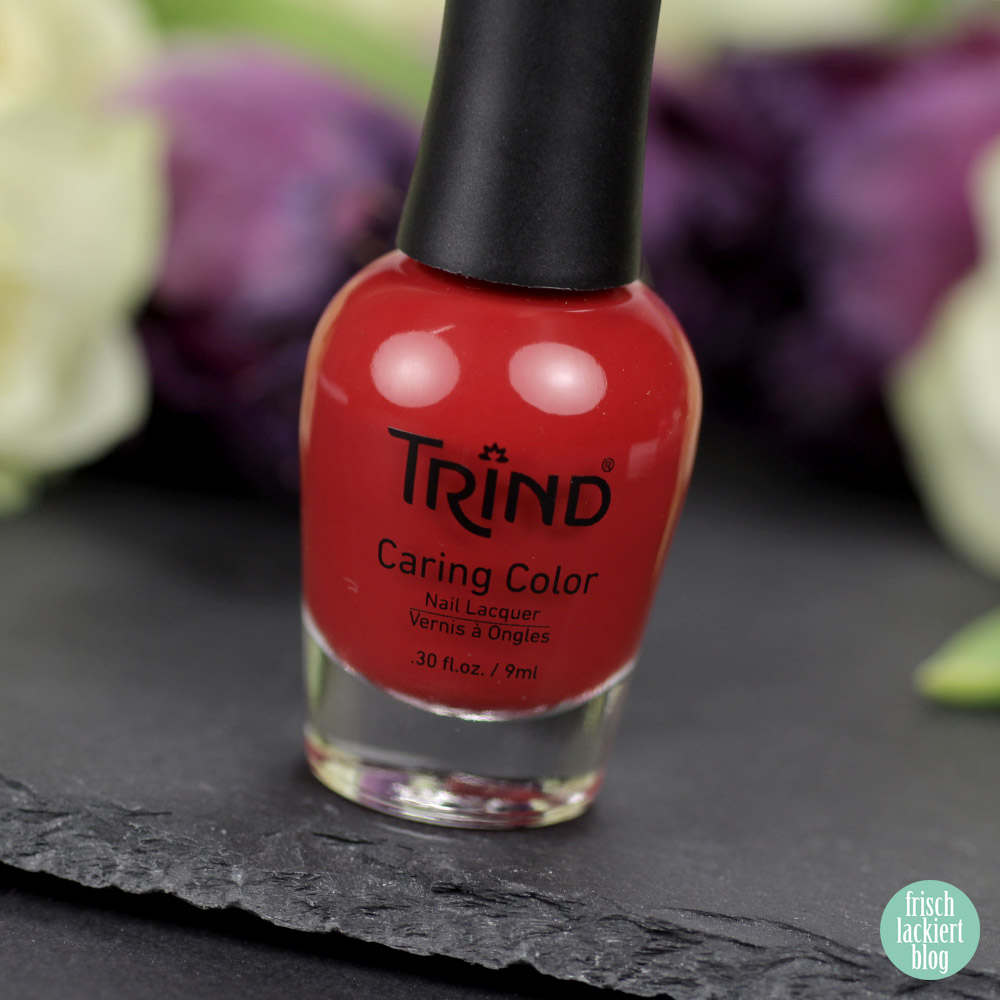 Trind Via dell' Amore – roter Nagellack – Cinque Terre Charm Kollektion – Swatch by frischlackiert