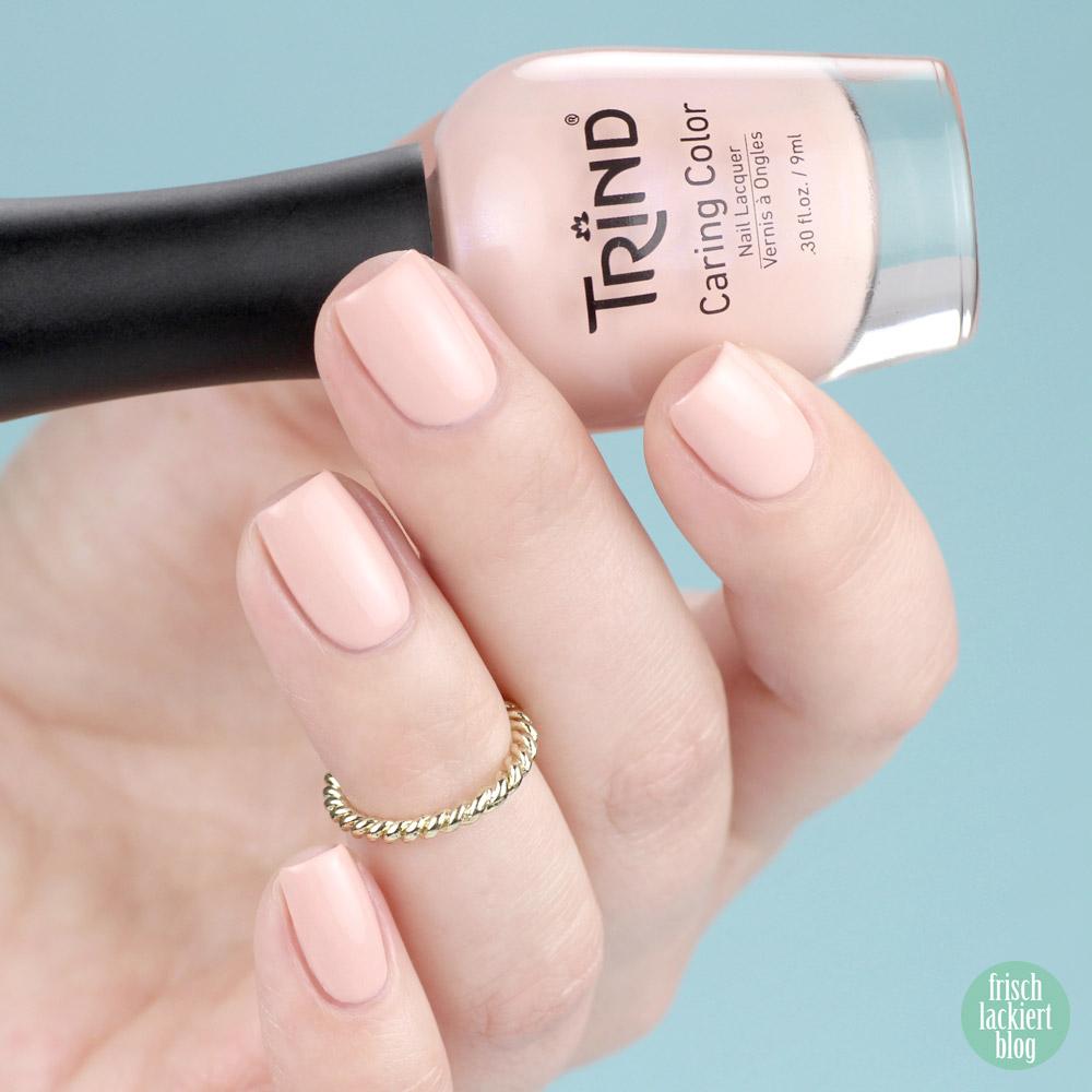 Trind Guvano Nude – beiger Nagellack – Cinque Terre Charm Kollektion – Swatch by frischlackiert