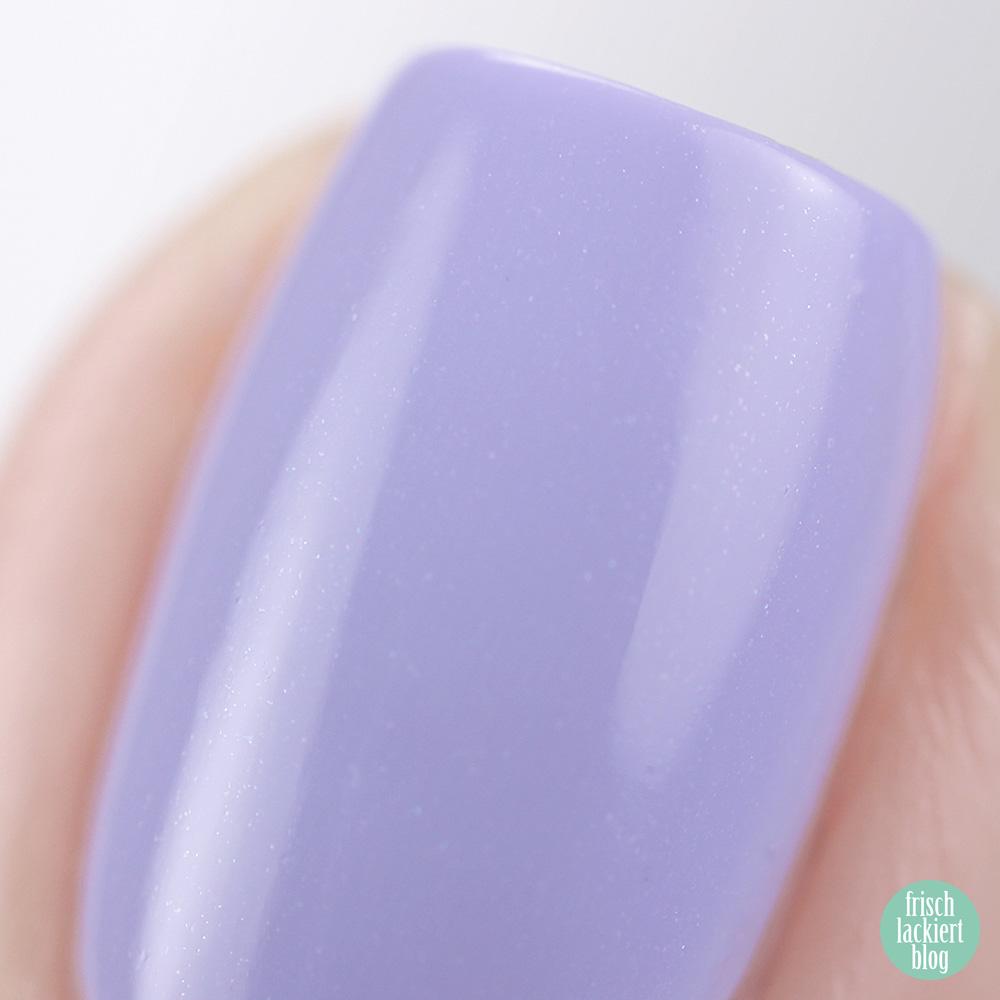 Ice Ice Baby Sommerkollektion ANNY – lilac bash – Trend Nagellackfarben für den Sommer 2019 – swatch by frischlackiert