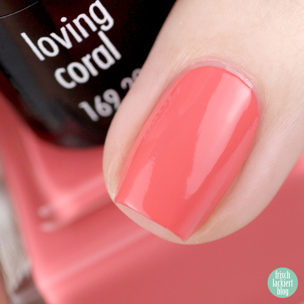 ANNY loving coral – Nagellack limited edition zur Color of the year Loving Coral – swatch by frischlackiert