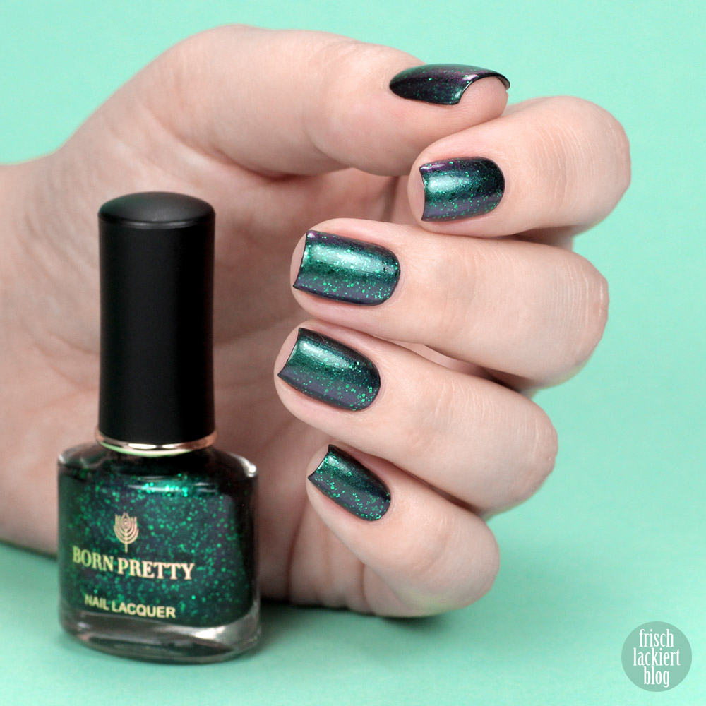 Born Pretty Store Nailpolish – Black Orchid Series – L´Heure Bleue