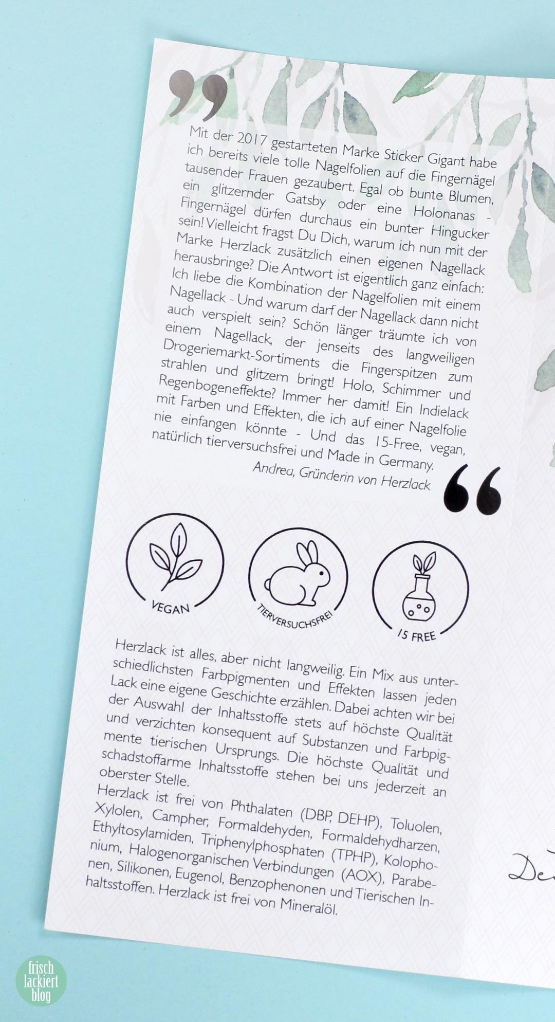 Herzlack – verspielt veganer Nagellack aus Deutschland – Review und Swatches von frischlackiert
