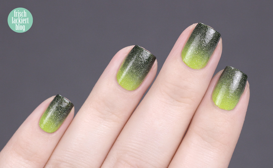 Masura golden evergreen Winter Nailart – by frischlackiert