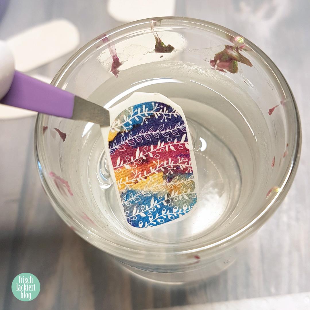 Schnelles Nailart mit h2oh Waterdecals – Schnelles Nailart in zehn Minuten – by frischlackiert