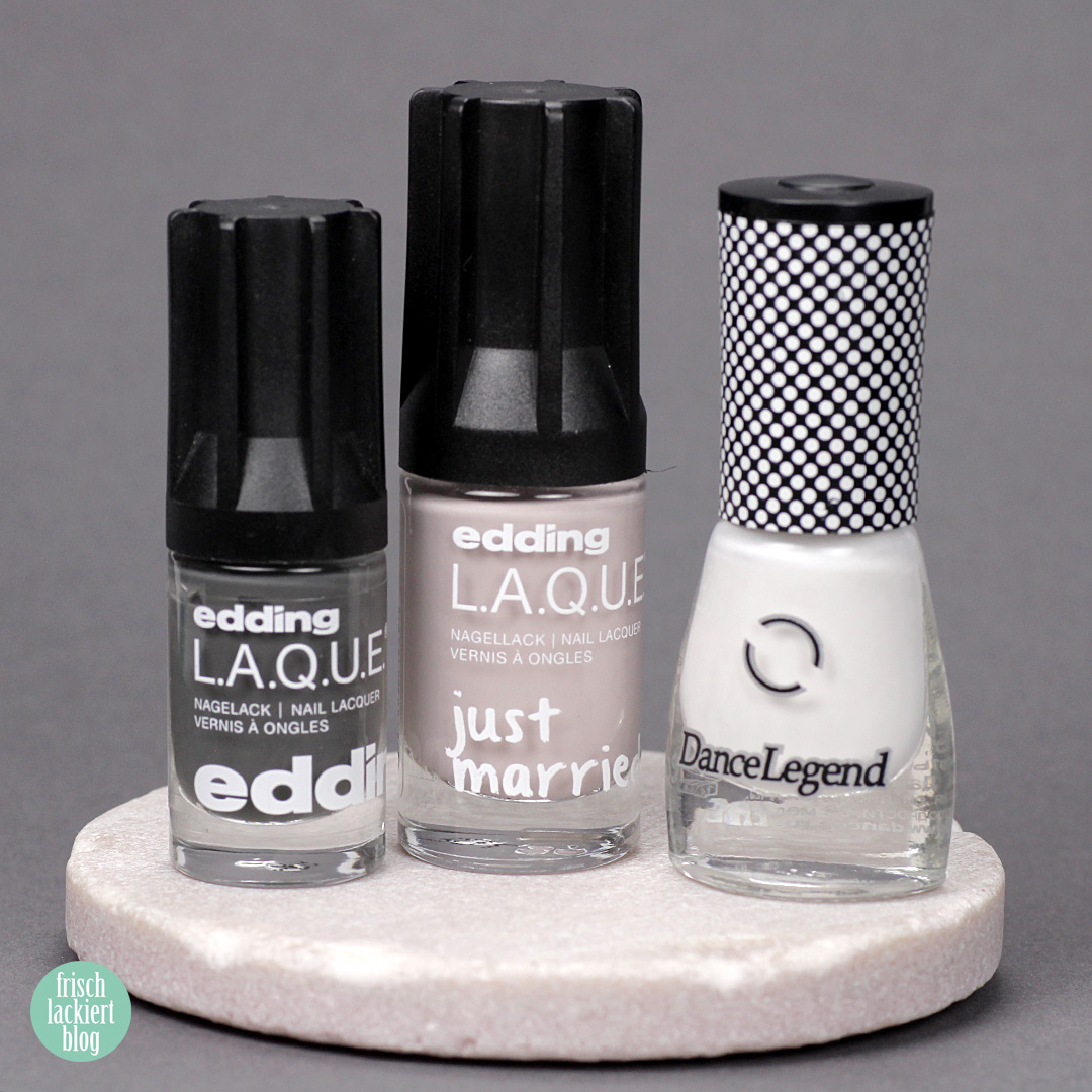 Frischlackiert-Challenge out of pace nails art - fluid nails - planet surface – by frischlackiert