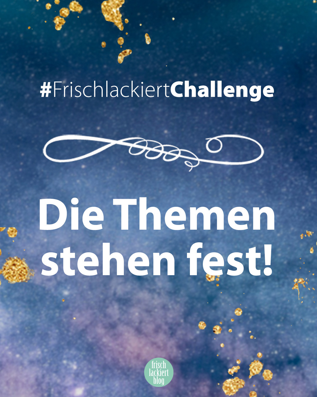 FrischlackiertChallenge - Nail Art Challenge 2020