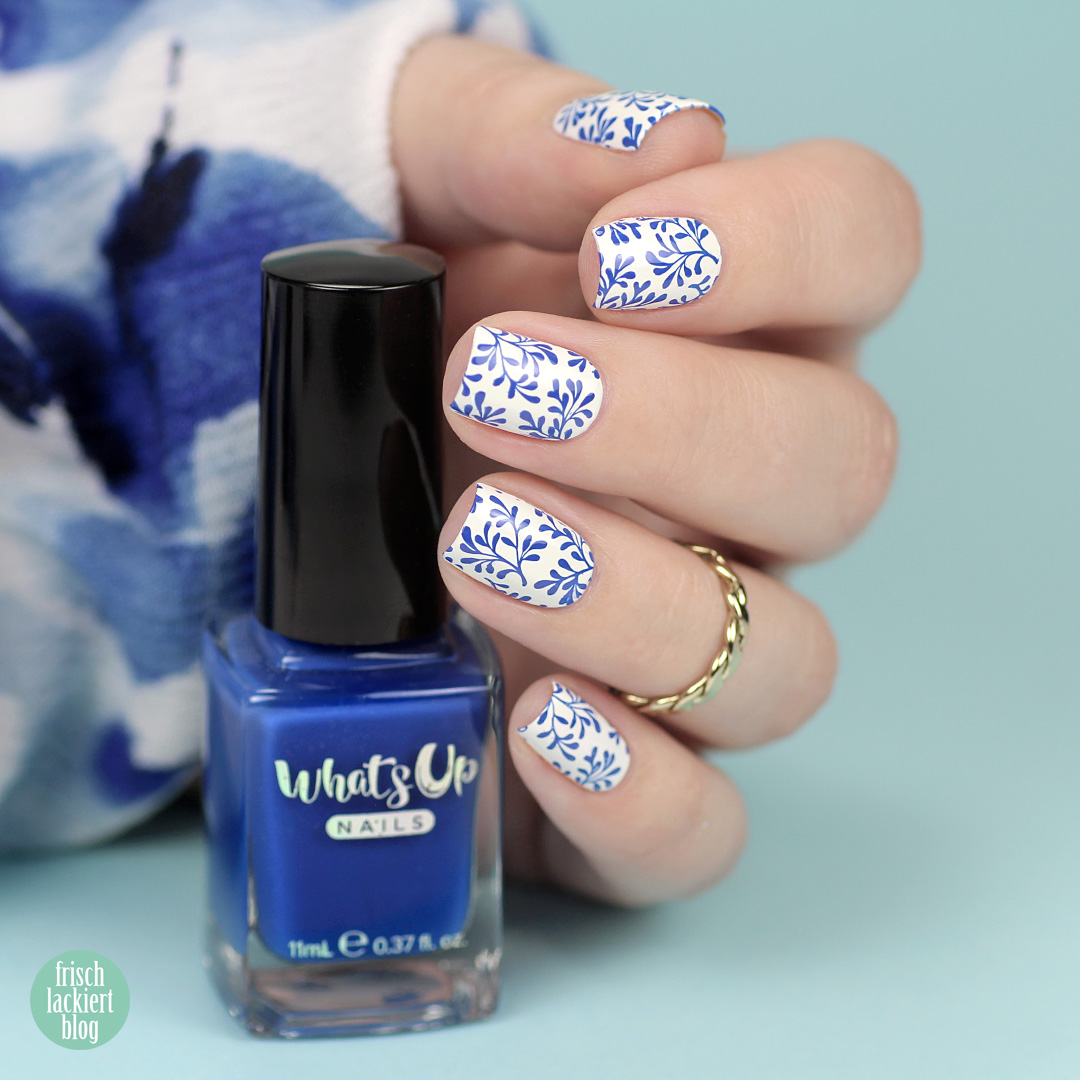 Whatsup Nails Stamping Polish Review - by frischlackiert