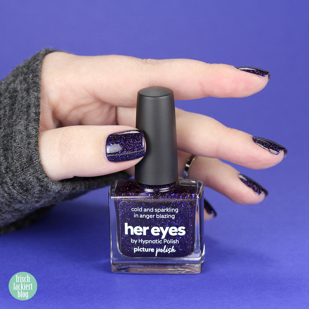 Picture Polish Collaboration Shade with hypnotic polish – Her Eyes – review and swatch by frischlackiert