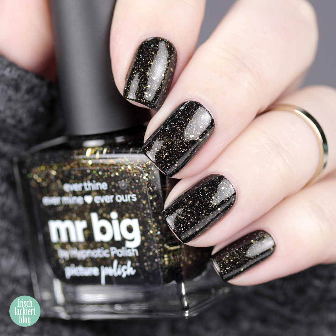 Picture Polish Collaboration Shade with hypnotic polish – Mr. Big – review and swatch by frischlackiert