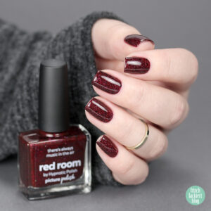 Picture Polish Collaboration Shade with hypnotic polish – Red Room – review and swatch by frischlackiert