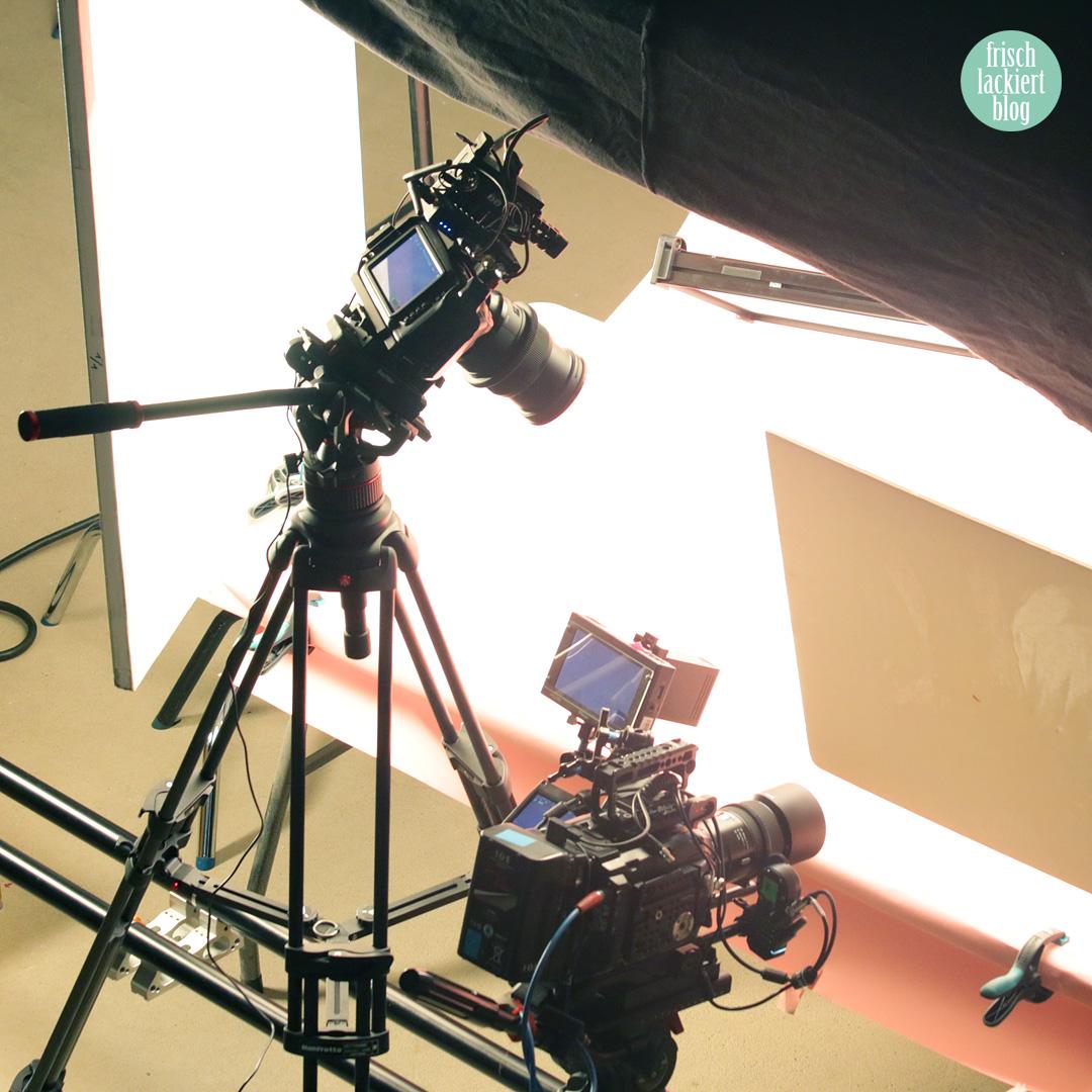 Hinter den Kulissen – Videodreh mit essence und frischlackiert