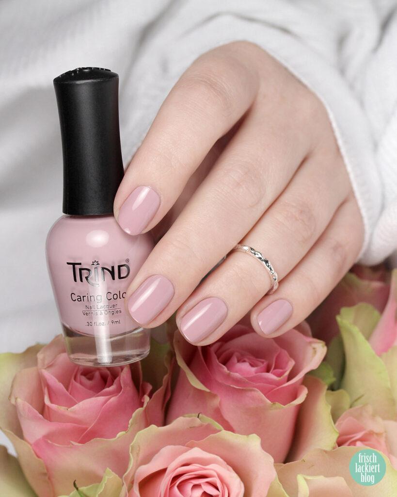 Trind Nagellack – Back to Basics Kollektion – Fresh Start – Beige Rosa – swatch by frischlackiert